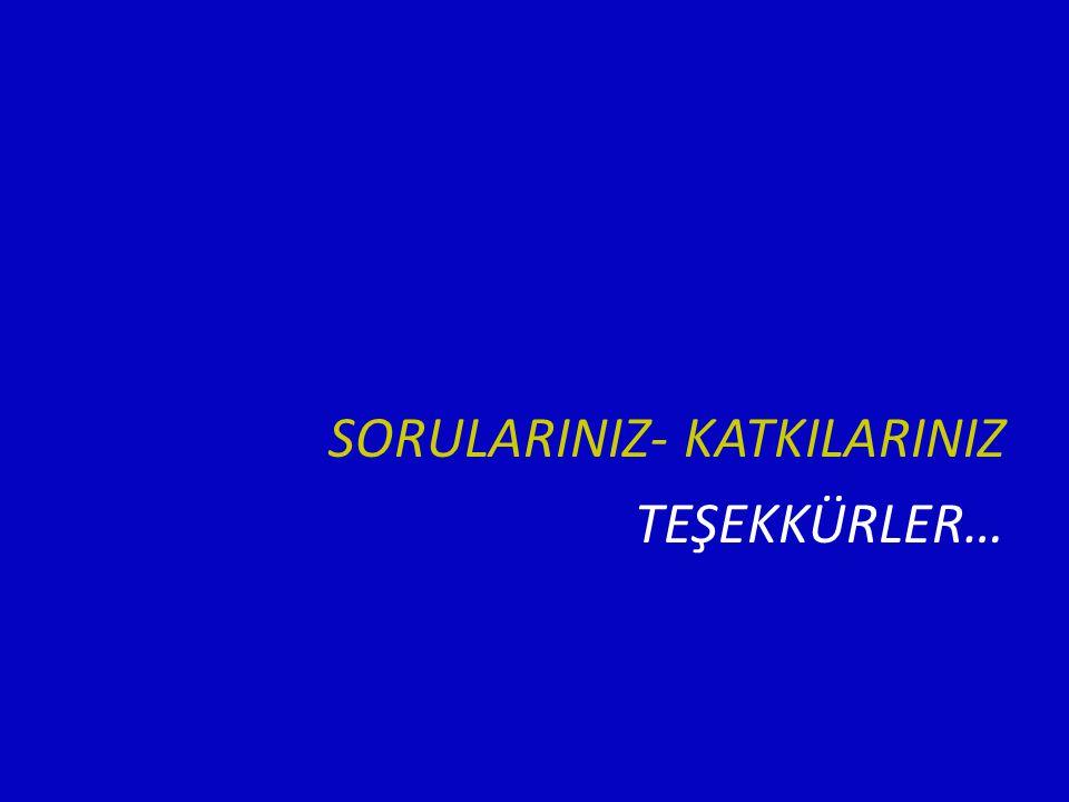 SORULARINIZ- KATKILARINIZ