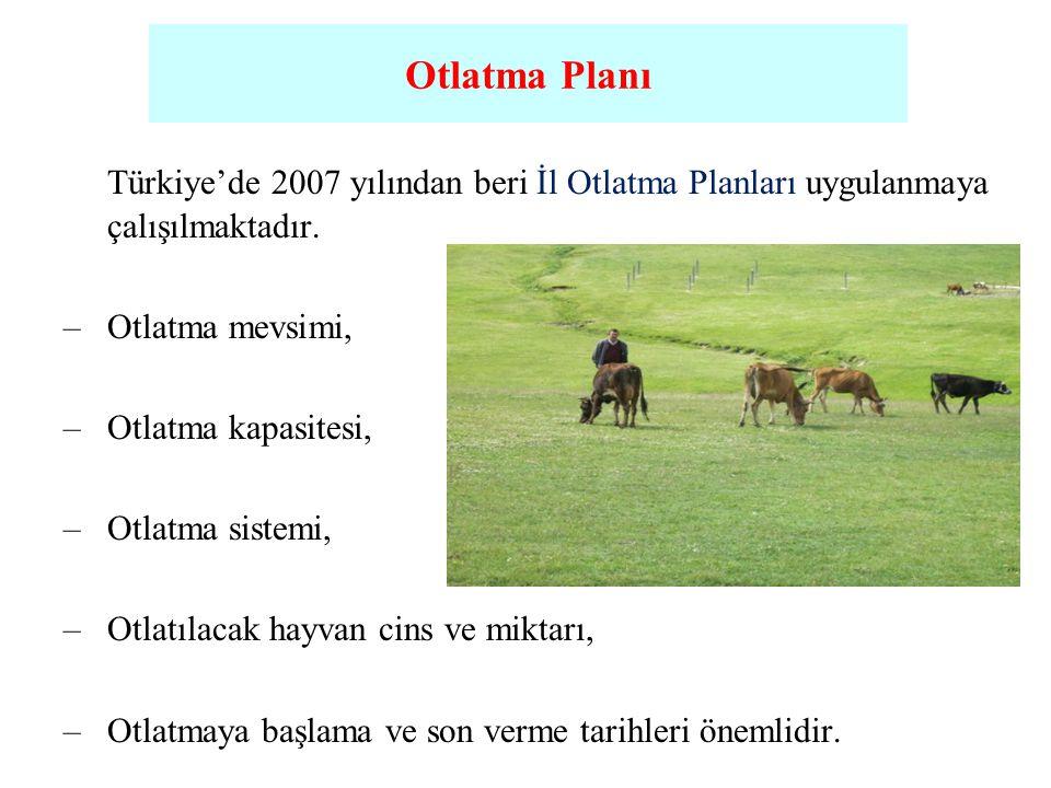 Otlatma Planı Otlatma Planı. Türkiye'de 2007 yılından beri İl Otlatma Planları uygulanmaya çalışılmaktadır.