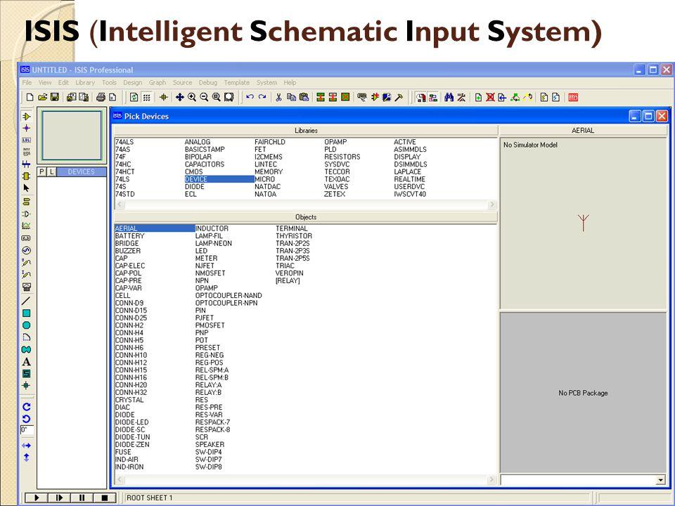 ISIS (Intelligent Schematic Input System)
