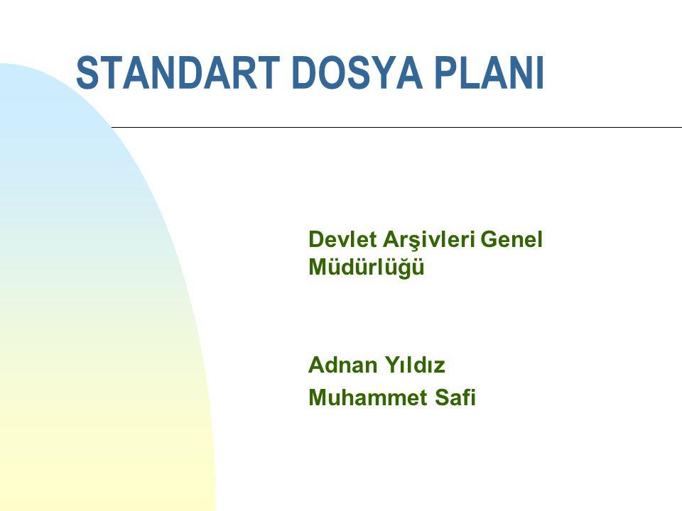 Devlet Arşivleri Genel Müdürlüğü Adnan Yıldız Muhammet Safi