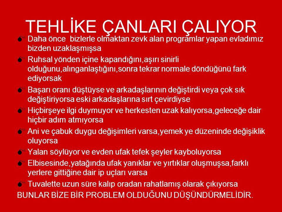 TEHLİKE ÇANLARI ÇALIYOR
