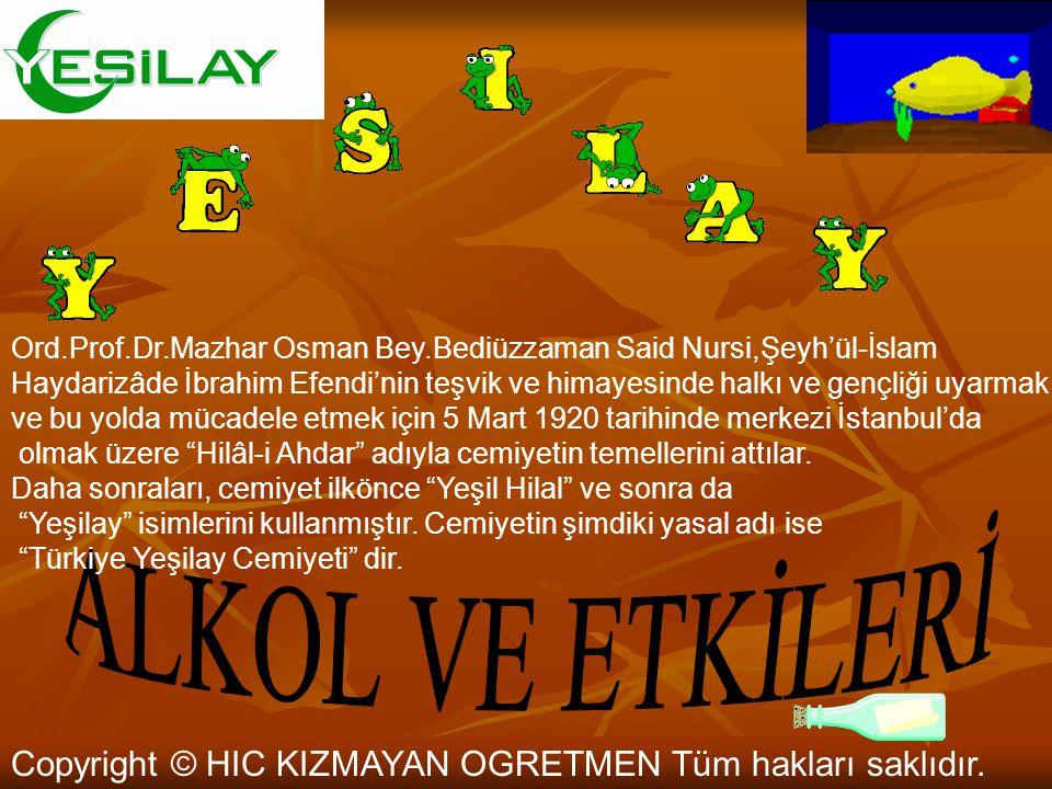 Ord.Prof.Dr.Mazhar Osman Bey.Bediüzzaman Said Nursi,Şeyh'ül-İslam