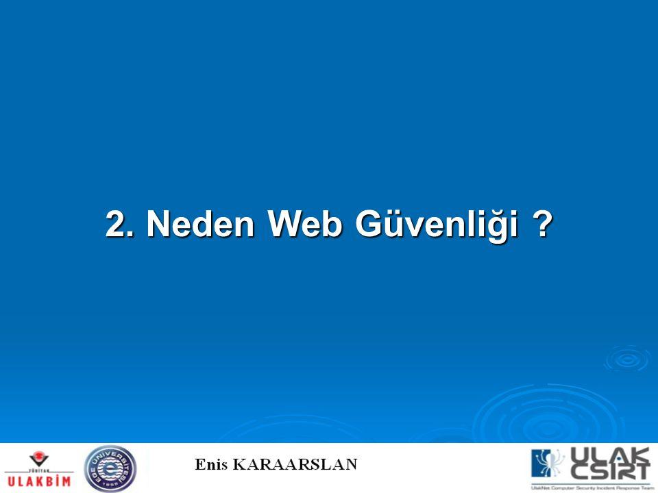 2. Neden Web Güvenliği
