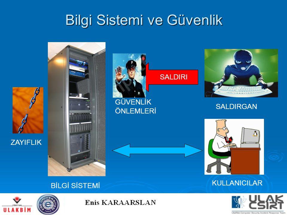 Bilgi Sistemi ve Güvenlik