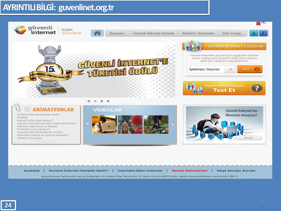 AYRINTILI BİLGİ: guvenlinet.org.tr
