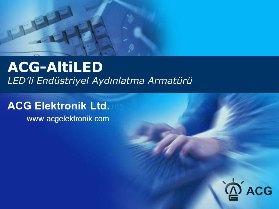 ACG-AltiLED LED'li Endüstriyel Aydınlatma Armatürü