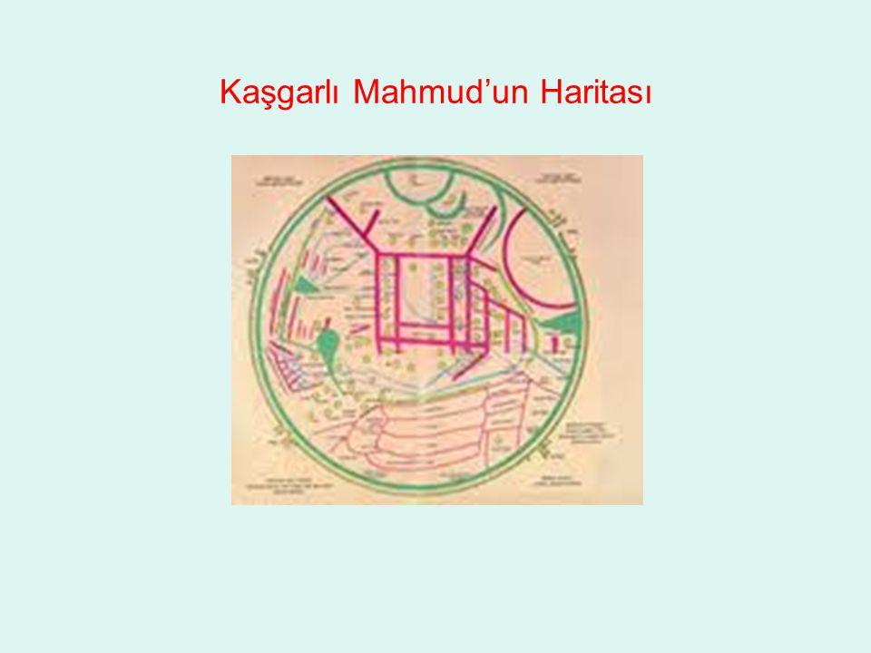 Kaşgarlı Mahmud'un Haritası