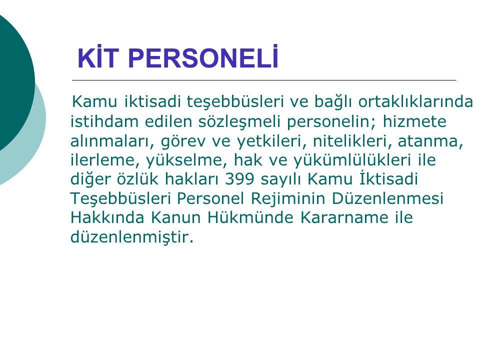KİT PERSONELİ
