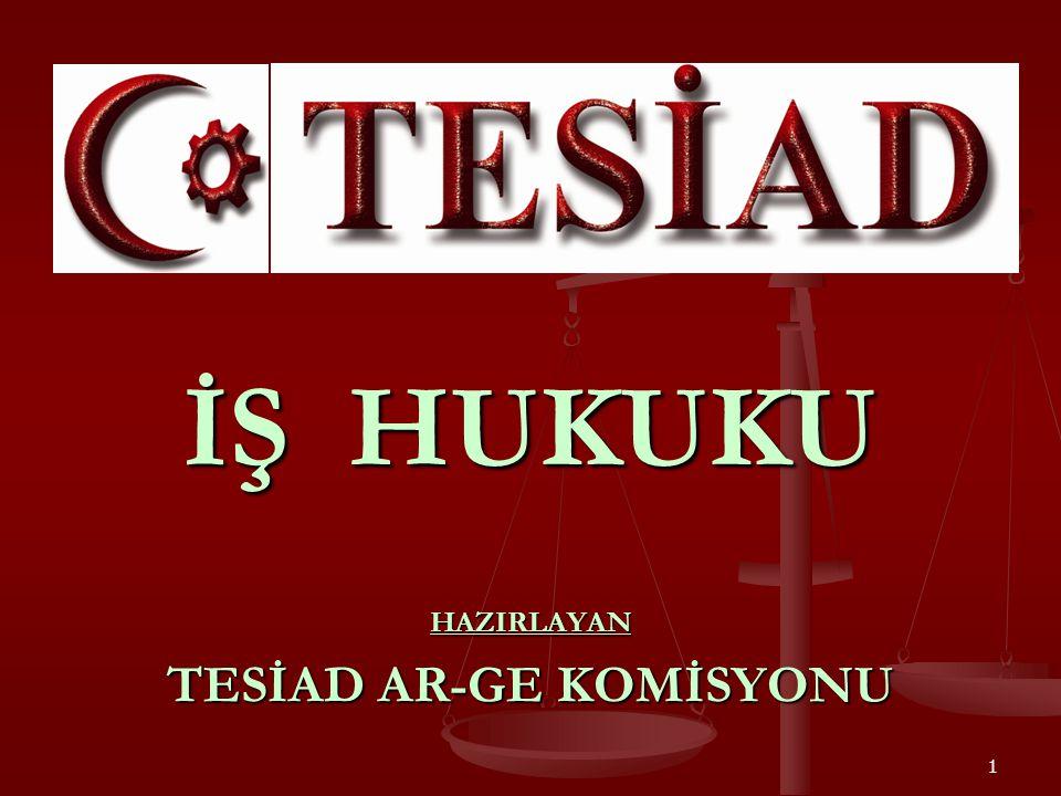 HAZIRLAYAN TESİAD AR-GE KOMİSYONU