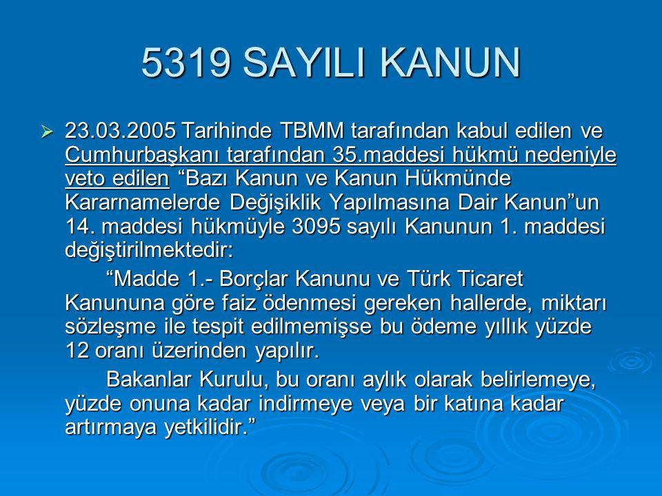 5319 SAYILI KANUN