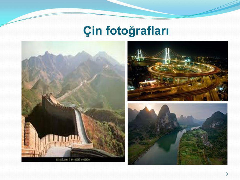 Çin fotoğrafları
