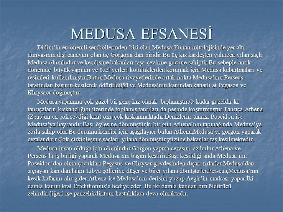 MEDUSA EFSANESİ