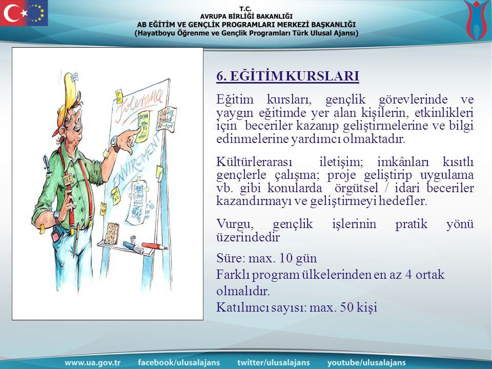 6. EĞİTİM KURSLARI