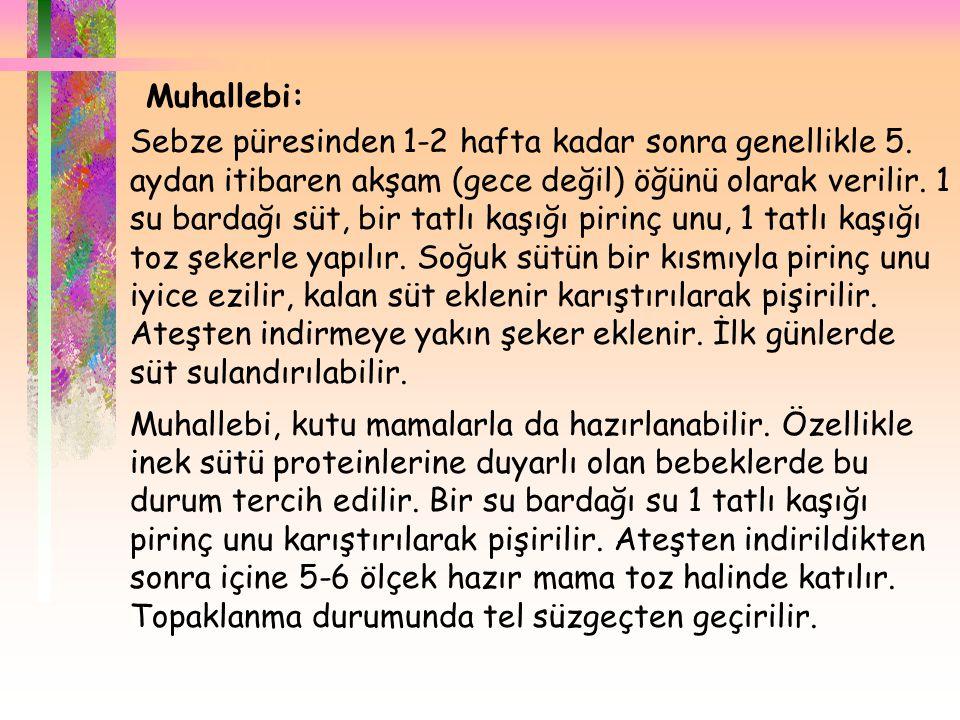 . Muhallebi:
