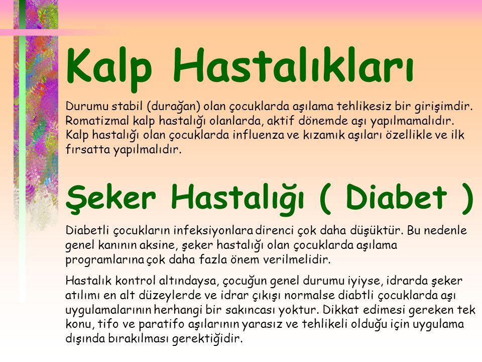 Kalp Hastalıkları Şeker Hastalığı ( Diabet )
