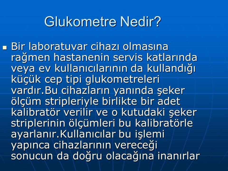 Glukometre Nedir