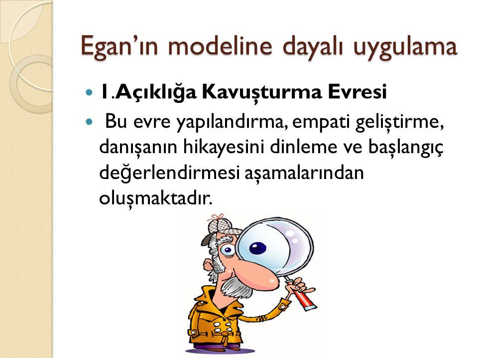 Egan'ın modeline dayalı uygulama