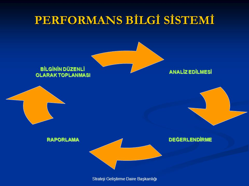 PERFORMANS BİLGİ SİSTEMİ