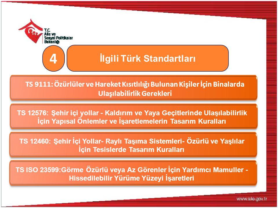 İlgili Türk Standartları
