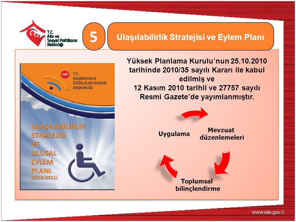 Ulaşılabilirlik Stratejisi ve Eylem Planı