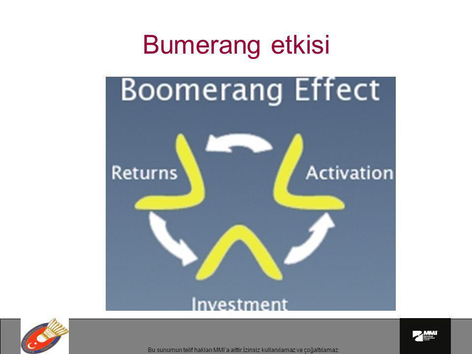 Bumerang etkisi