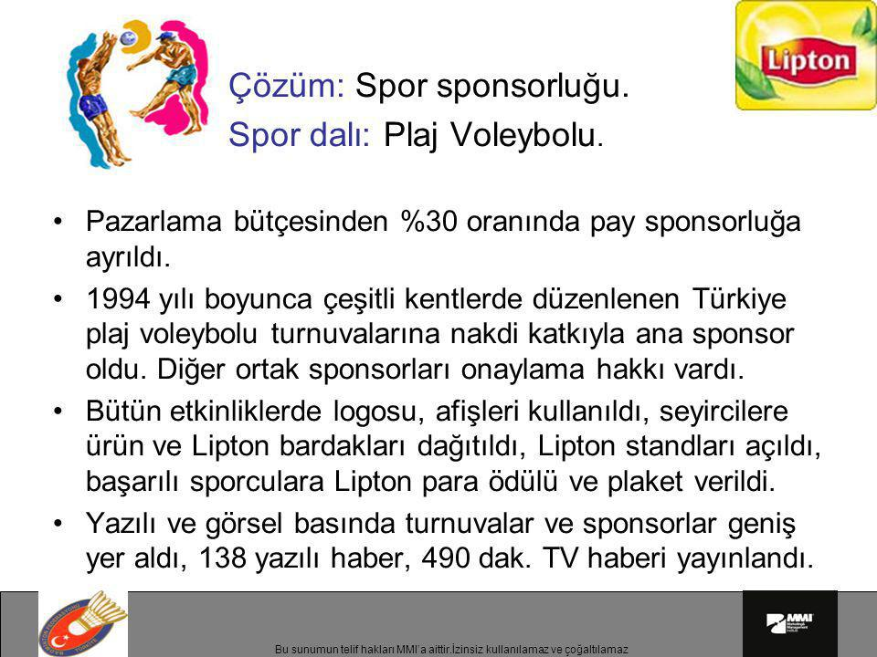 Spor dalı: Plaj Voleybolu.