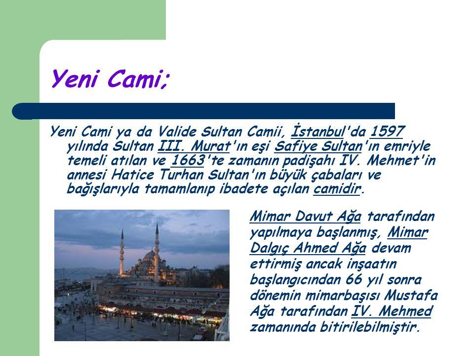 Yeni Cami;