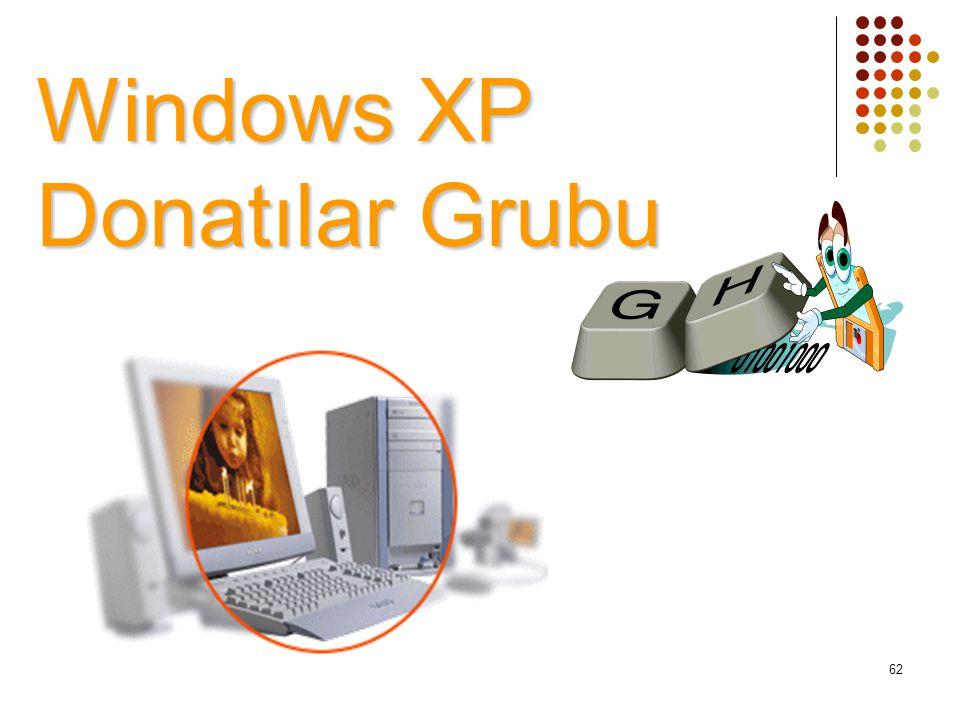 Windows XP Donatılar Grubu