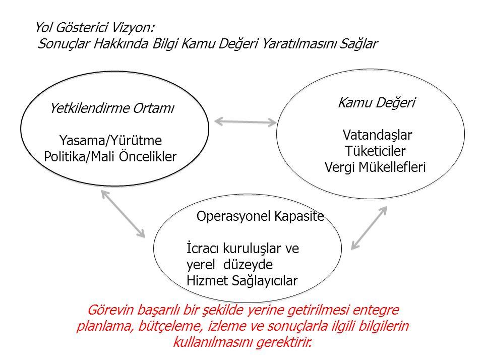 Yasama/Yürütme Politika/Mali Öncelikler