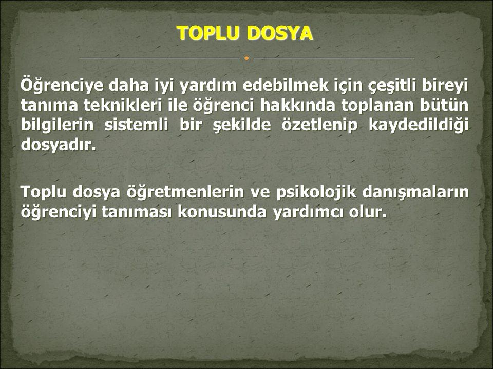 TOPLU DOSYA