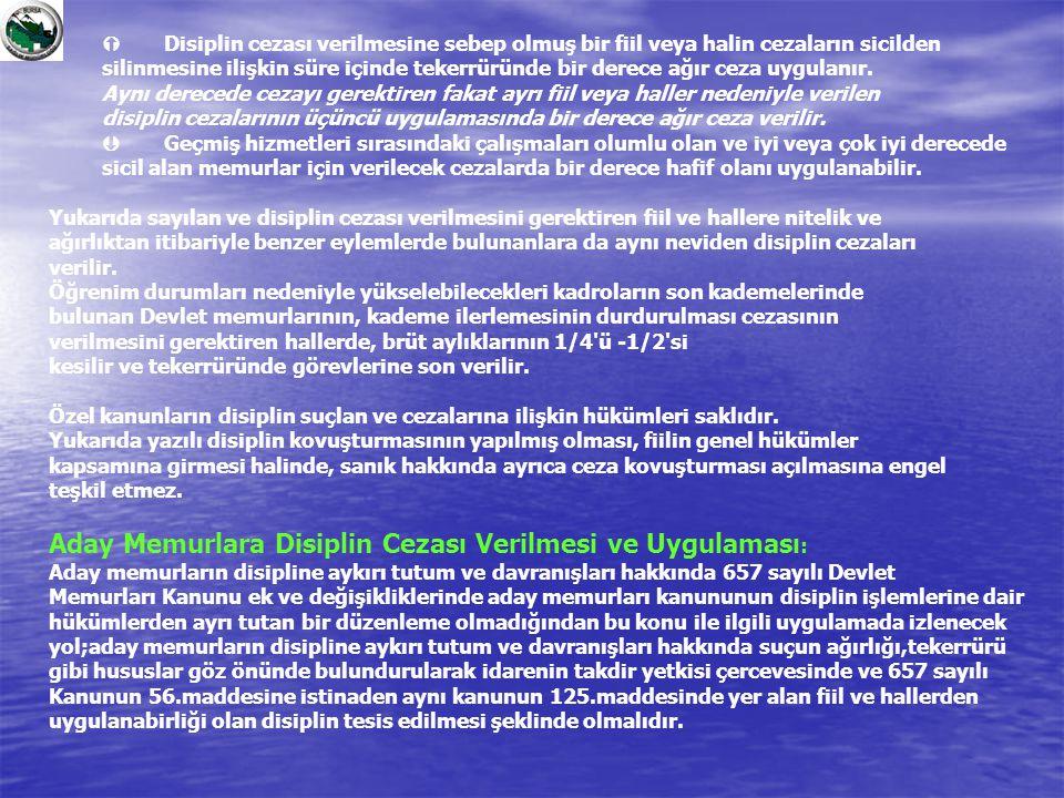Aday Memurlara Disiplin Cezası Verilmesi ve Uygulaması: