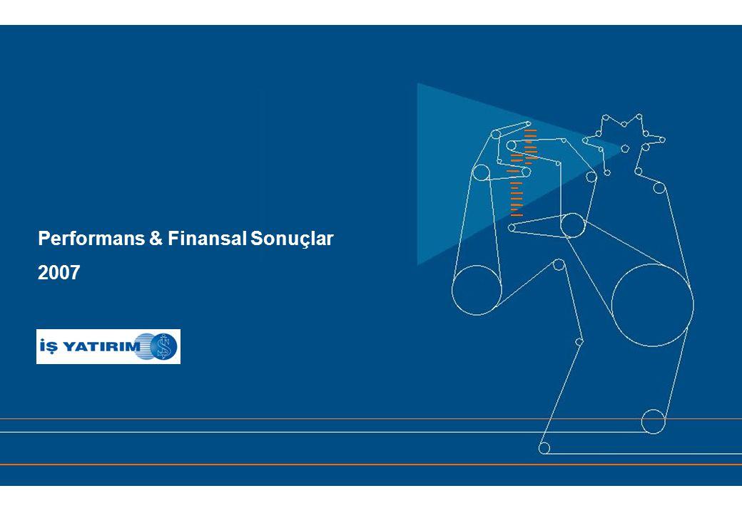Performans & Finansal Sonuçlar