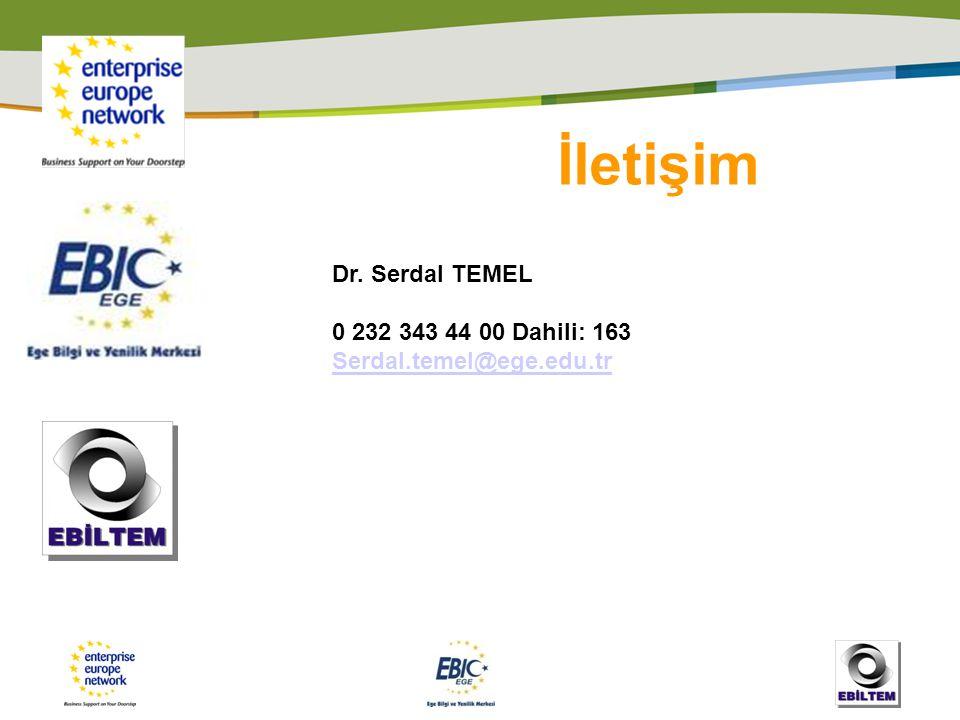 İletişim Dr. Serdal TEMEL 0 232 343 44 00 Dahili: 163