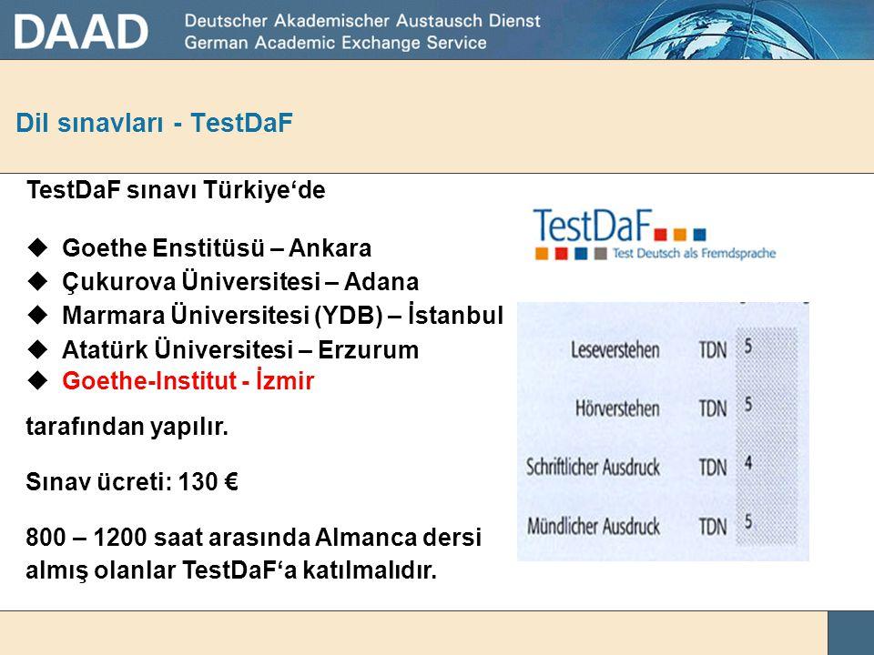 Dil sınavları - TestDaF
