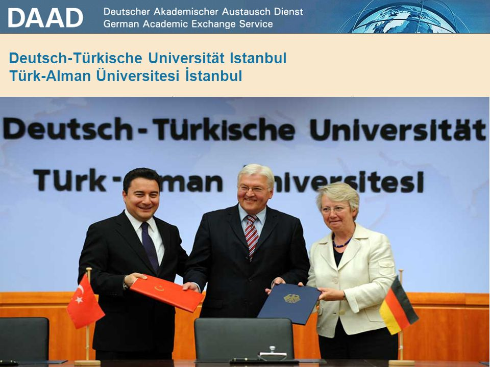 Deutsch-Türkische Universität Istanbul Türk-Alman Üniversitesi İstanbul