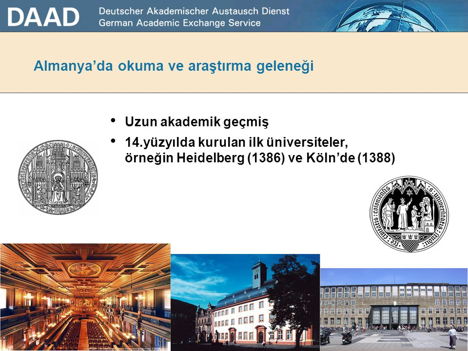Almanya'da okuma ve araştırma geleneği