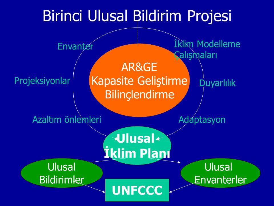 Birinci Ulusal Bildirim Projesi