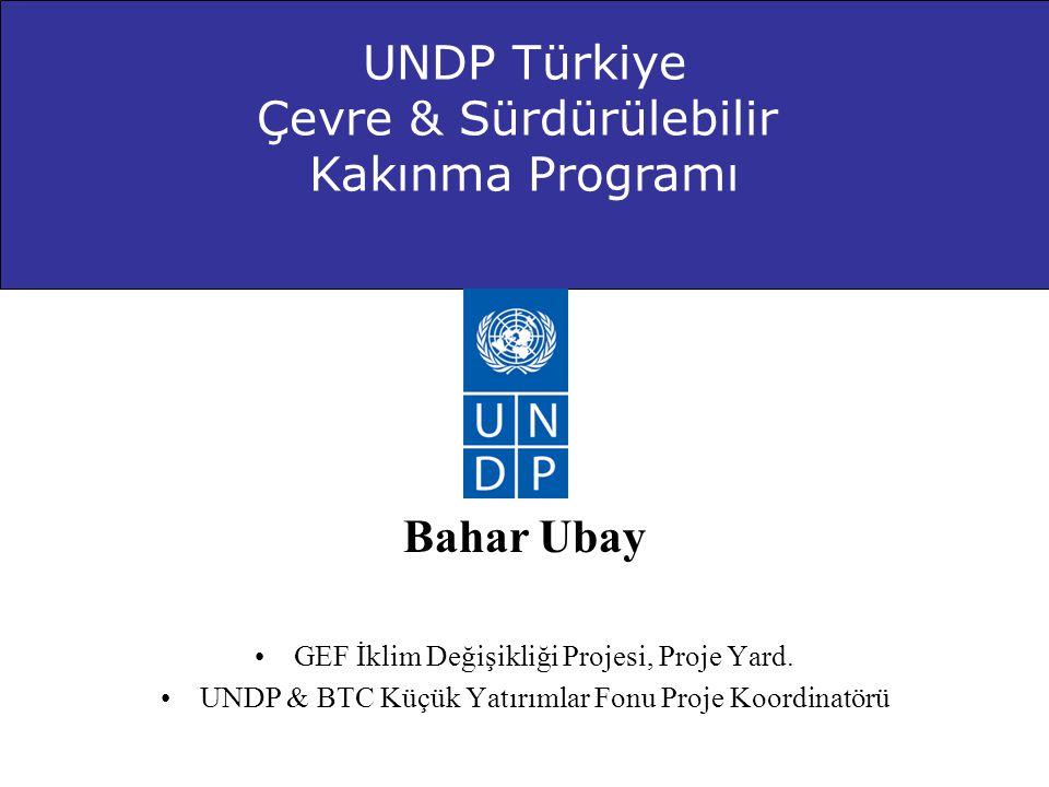 Çevre & Sürdürülebilir Kakınma Programı