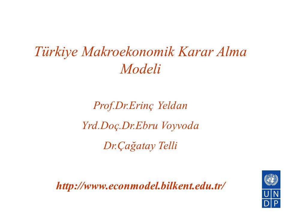 Türkiye Makroekonomik Karar Alma Modeli