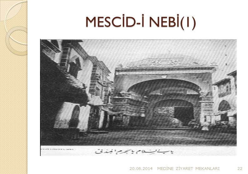 MESCİD-İ NEBİ(1) 02.04.2017 MEDİNE ZİYARET MEKANLARI
