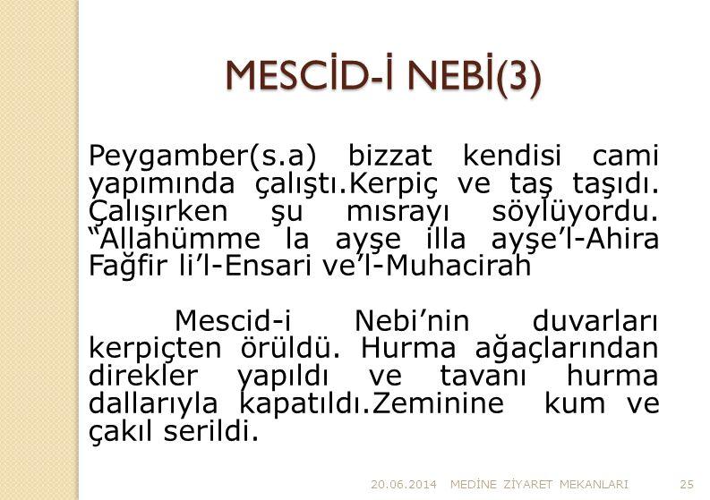 MESCİD-İ NEBİ(3)