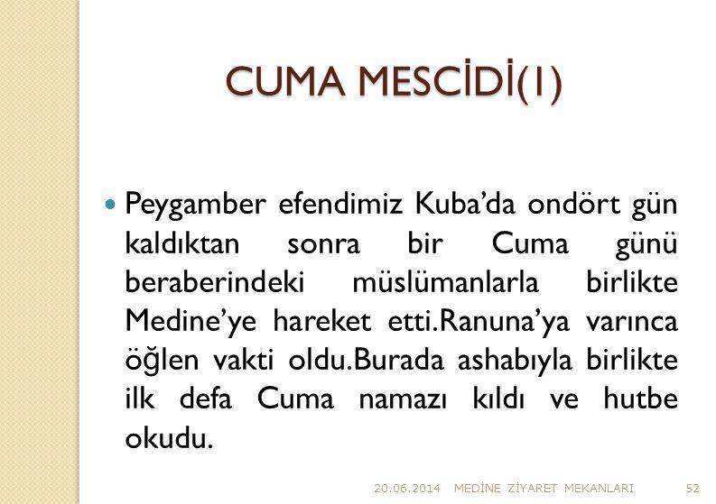 CUMA MESCİDİ(1)