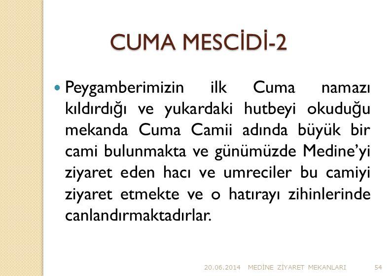 CUMA MESCİDİ-2