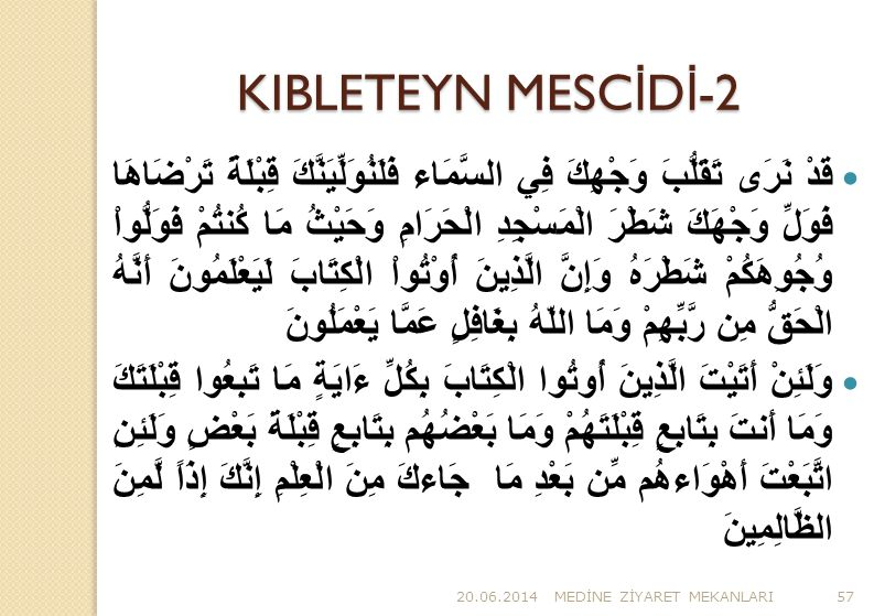KIBLETEYN MESCİDİ-2