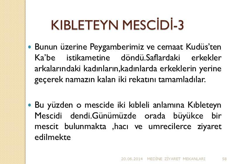 KIBLETEYN MESCİDİ-3