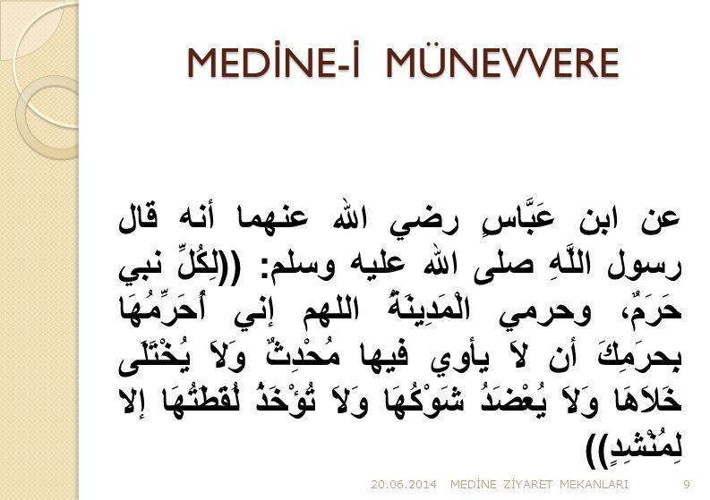 MEDİNE-İ MÜNEVVERE