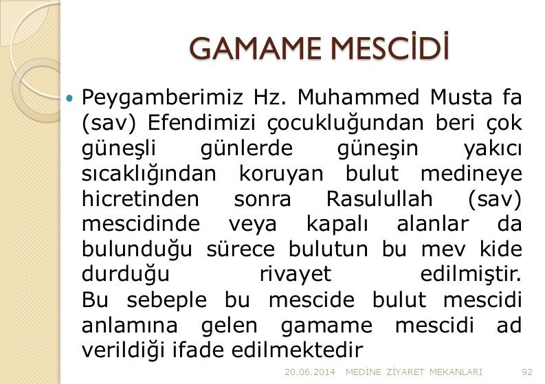 GAMAME MESCİDİ