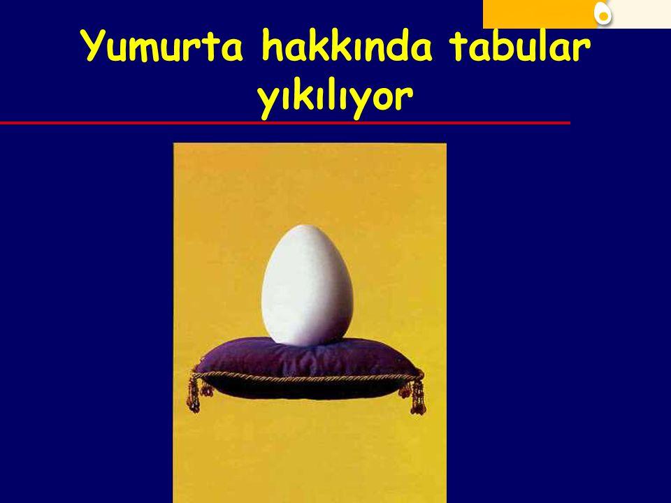 Yumurta hakkında tabular yıkılıyor