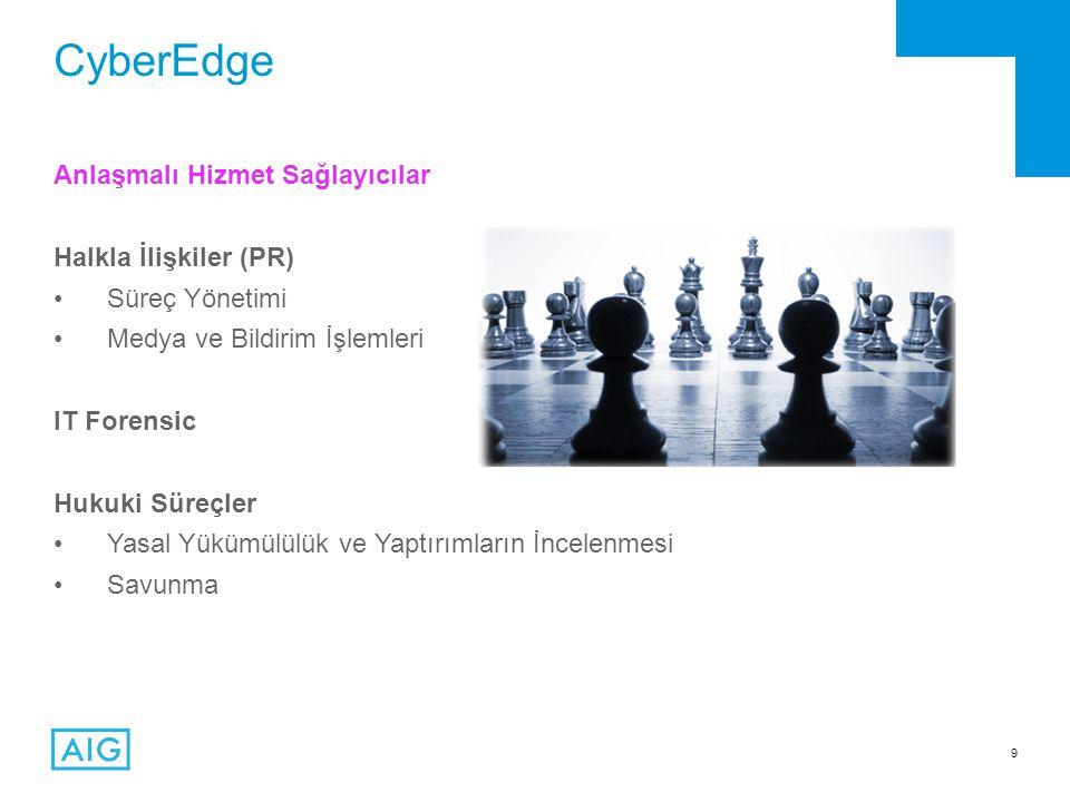 CyberEdge Anlaşmalı Hizmet Sağlayıcılar Halkla İlişkiler (PR)