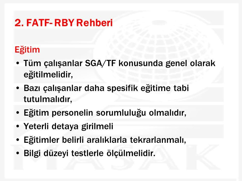 2. FATF- RBY Rehberi Eğitim